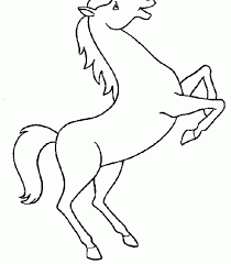 Awesome Coloring Pages Horses Top Boo Of Horse Printable General 1440