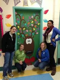 Pictures Of Holiday Door Decorating Contest Ideas by Christmas Characters Reindeer 2 16 Reindeer Pinterest