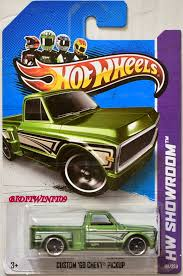 100 69 Chevy Truck Pictures HOT WHEELS 2013 HOT TRUCKS HW SHOWROOM CUSTOM CHEVY PICKUP