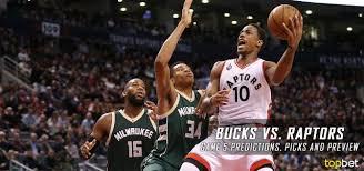 Bucks vs Raptors Series Game 5 Predictions Picks & Preview
