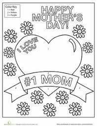 I Love You Mom Mothers Day Coloring PagesSchool HolidaysSeasons Worksheets Preschool
