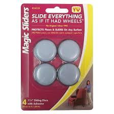 magic sliders sliding discs with adhesive 4 ct target