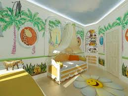 Zoo Wall Decorating In Kids Bedroom From Companys Architecture And Design