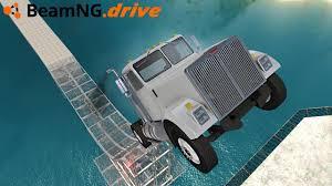 100 Truck Jump BeamNGdrive HUGE TRUCK JUMP YouTube
