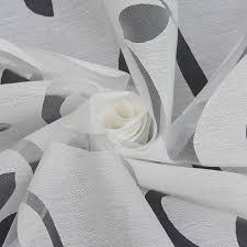 heichkell voile gardinenschal mit kräuselband transparent
