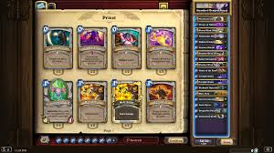 priest deck august 2017 un goro standard priest legend hearthstone decks