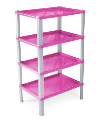 ondis24 regal kunststoff badregal scaf pink günstig