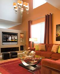 Warm Colors For A Living Room by Accent Wall Colors For Living Room Christmas Lights Decoration