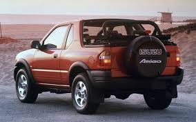 100 Amigo Truck Isuzu And Rodeo Sport Recalled Due To Rusting Suspension
