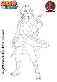 Coloring Pages Of Naruto Shippuden Characters Ps4 Pinterest