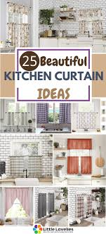 Kitchen Drapery Ideas 25 Best Kitchen Curtain Ideas You May Also Like