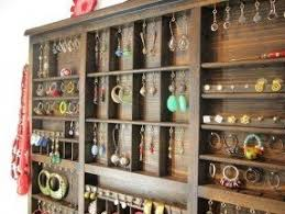 Wall Mounted Jewelry Display