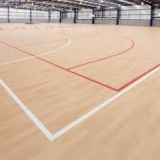 Resilient Athletic Flooring Wooden Floor Info