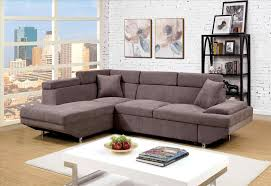 Hodan Sofa Chaise Art Van by 2 Pc Earsom Ii Collection Grey Linen Fabric Upholstered Sectional