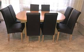 esstisch mit 10 stühlen buche maxim roller ca 160 4x40 x 90cm