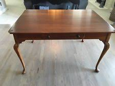 bob timberlake solid cherry 45x76 extends 124 dining table w10