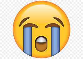 Face With Tears Of Joy Emoji Crying Laughter Sticker