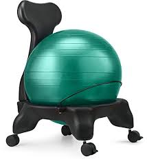 Gaiam Classic Balance Ball Chair Charcoal by Fitness Ball Chair For Desk U2013 Best Buy