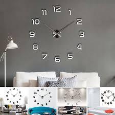 weitere uhren design wand uhr wohnzimmer wanduhr spiegel
