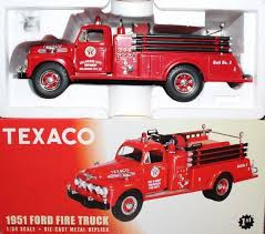 1951 FORD FIRE TRUCK - 2001 FIRST GEAR 1:34 SCALE #19-2723 TEXACO ...