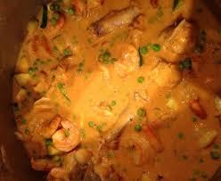 cuisine queue de lotte queue de lotte au lait de coco et curry recette de queue de