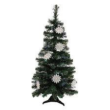 3 Ft Pre Lit Fiber Optic Artificial Christmas Tree