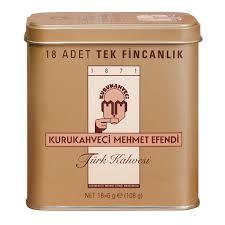 Kurukahveci Mehmet Efendi Turkish Coffee Sachets 18