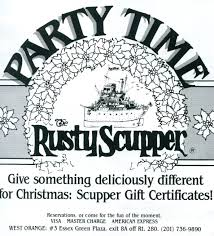 Fortunoff Christmas Trees Nj by The Rusty Scupper In West Orange 1979 Ad Vintage Essex County