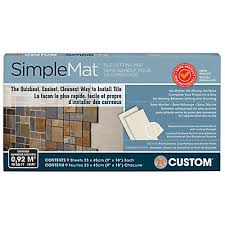 custom building products simplemat tile setting mat the home