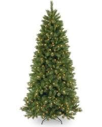 75 Ft Lehigh Valley Pine Slim Hinged Dual LED Christmas Tree