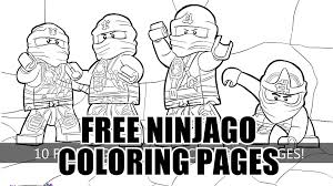 Ninjago Coloring Pages To Print Fre Hard Lego Masters Of Spinjitzu