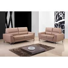 Darrin Leather Sofa From Jcpenney by Nicoletti Lipari Taupe Leather Sofa Left Facing Costco Uk