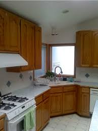 Dark Wood Cabinet Kitchens Colors Kitchen Pretty Wood Kitchen With Small Interior Also Neutral