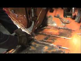 Jeep Xj Floor Pan Removal jeep floor pan rust repair video 4 panel fitting youtube