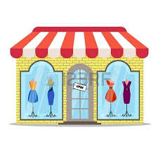 34903 Clothing Store Cliparts Stock Ve