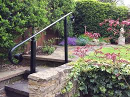 Wrought Iron Handrails   Metal Handrails 24m Decking Handrail Nationwide Delivery 25 Best Powder Coated Metal Fencing Images On Pinterest Wrought Iron Handrails How High Is A Bar Top The Best Bars With View Time Out Sky Awesome Cantilevered Deck And Nautical Railing House Home Interior Stair Railing Or Other Kitchen Modern Garden Ideas Deck Design To Get The Railings Archives Page 6 Of 7 East Coast Fence Exterior Products I Love Balcony Viva Selfwatering Planter Attractive Home Which Designs By Fencesus Also Face Mount Balcony Alinum Railings 4 Cityscape