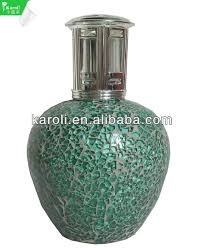 La Tee Da Lamps by New Design Catalytic Fragrance Lamp Made Of Mosaic And Metal