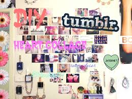DIY TUMBLR HEART PHOTO WALL COLLAGE FIRST VIDEO