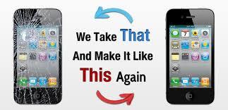 iPhone 5S Crack Screen Repair of Owings Mills MD US