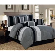 Bed Skirts Queen Walmart by Aberdeen Queen Size 7 Piece Luxurious Comforter Set Micro Suede