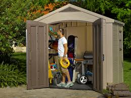 4x6 Plastic Storage Shed by Keter Factor 8 U0027 X 6 U0027 Resin Storage Shed All Weather Plastic