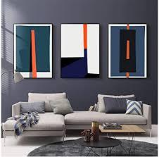 moderne abstrakte geometrische bunte drucke poster nordische