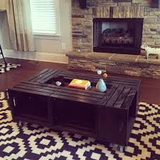 Wine Crate Coffee Table Diy 54