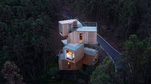100 Tree House Studio Wood Qiyun Mountain Hotel By Bengo In Xiuing China