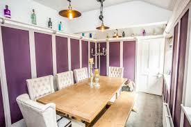 Dining Room Of Fleminghouse Lane Almondbury Huddersfield West Yorkshire HD5