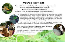 100 Truck Rental Santa Cruz The Farm Park Community Meetings