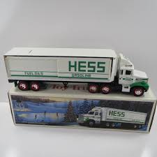1987 HESS TRUCK - Toy Truck Bank - Excellent Condition With Box ... Amazoncom 1972 Rare Hess Toy Gasoline Oil Truck Toys Games 2016 Dragster Jackies Store And Helicopter 2006 By Shop The Truck Is Here Its A Drag Njcom Parents Teachers Can Use New To Teach Stem Reveals The Mini Collection For 2018 Newsday 2008 Hess Truck And Front Loader New In Box 1500 Release 3 Toy Collections In Mark 85th 2017 Dump 2004 Miniature Tanker