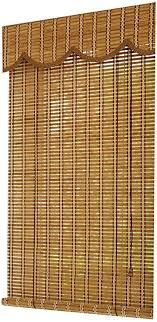 yanzhen bambus rollo schatten bambusrollo raffrollos fenster sichtschutz wohnzimmer balkon sonnencreme staubdicht sonnenschirm anpassen color a