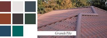 stile roof photo of stile metal tile roofing