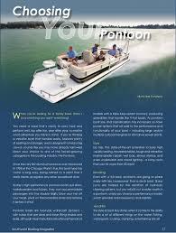 Pontoon Boat Sinks Nj by Southwest Boating Magazine Vol 1 Issue 2
